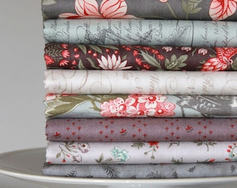 Quill by 3 Sisters for Moda ~ 8 Fat Quarter Bundle