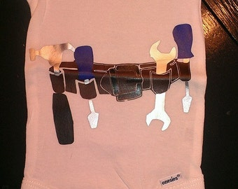 Tool belt onesie