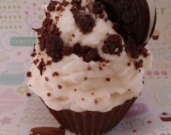 Cookies N Cream, bougie Cupcake, Oreo bougie, boulangerie doux parfum, bougie de nourriture, cadeau Unique, créatifs bougies, bougie en cire de soja, fait à la main