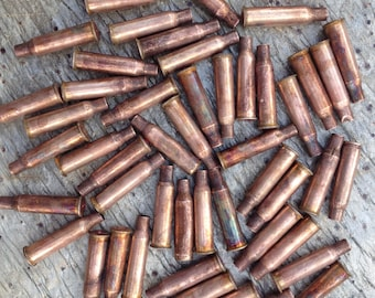 50pc Empty Bullet Casings for Steampunk Crafts