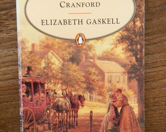 Vintage Book: Cranford by Elizabeth Gaskell Penguin Popular Classics 1994