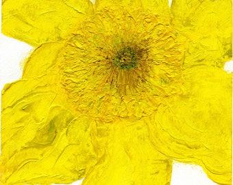 Acrylic Painting - Daffodil