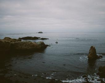 Limited edition 11x14 inch print of california coastline