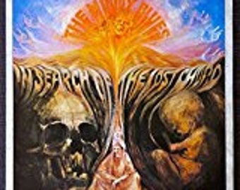 The Moody Blues - In Search of the Lost Chord - Vintage Album Cover Poster