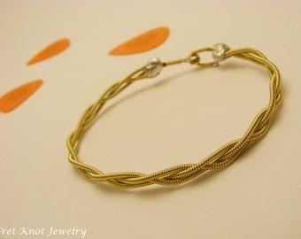 Guitar String Bracelet - Braided Strings