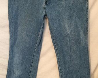 1980's 1990's Rustler Legendary Gold Denim jeans size 40 x 30
