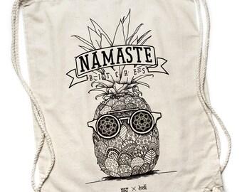 Holi Namaste-Turn bag