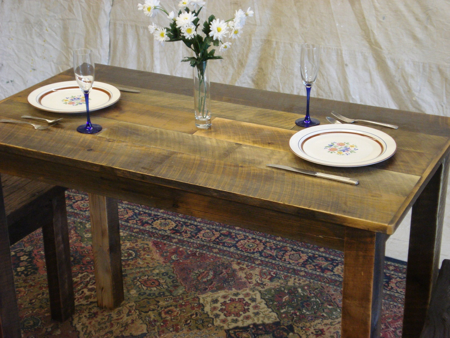 Counter Height Dining Room Table Farmhouse 50 X