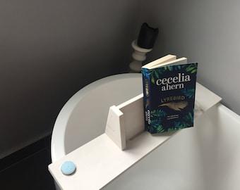 Book holder bath board