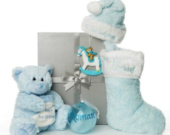 Baby Boy First Christmas Gift Pack