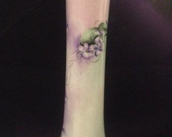 Antique Hand Painted Leonard Vienna Austria Vase