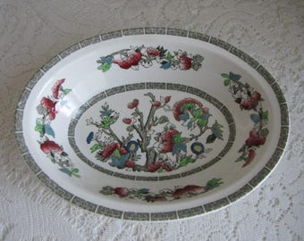 Indian Tree Vegetable Bowls Johnson Bros. Vintage Dinnerware and Replacements 1979-1982 Greek Key (2) Bowls Available