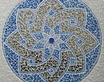 Tableau mosaïque symbole celtique
