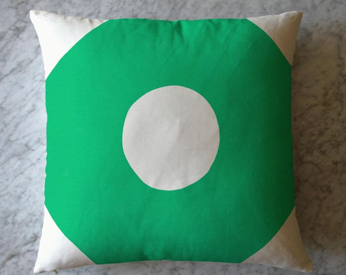 Green Shape Pillow