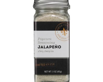 Jalapeno Popcorn Seasoning for Spicy Popcorn Flavor