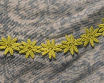 Yellow Daisy Trim
