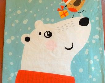 Cover baby-toddler fleece bear