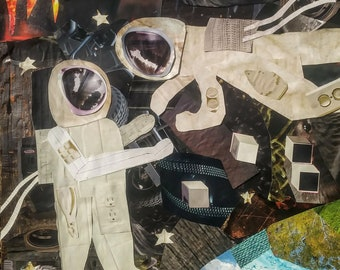 Space Embrace Collage