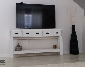 Thin Tv Console Table