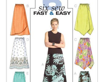 Butterick B4803 skirt sewing pattern
