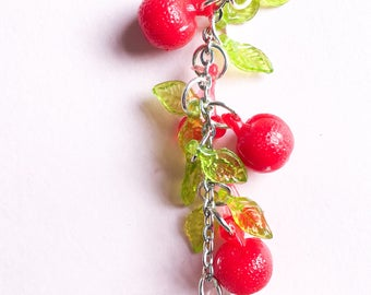 Fruit kawaii keychain