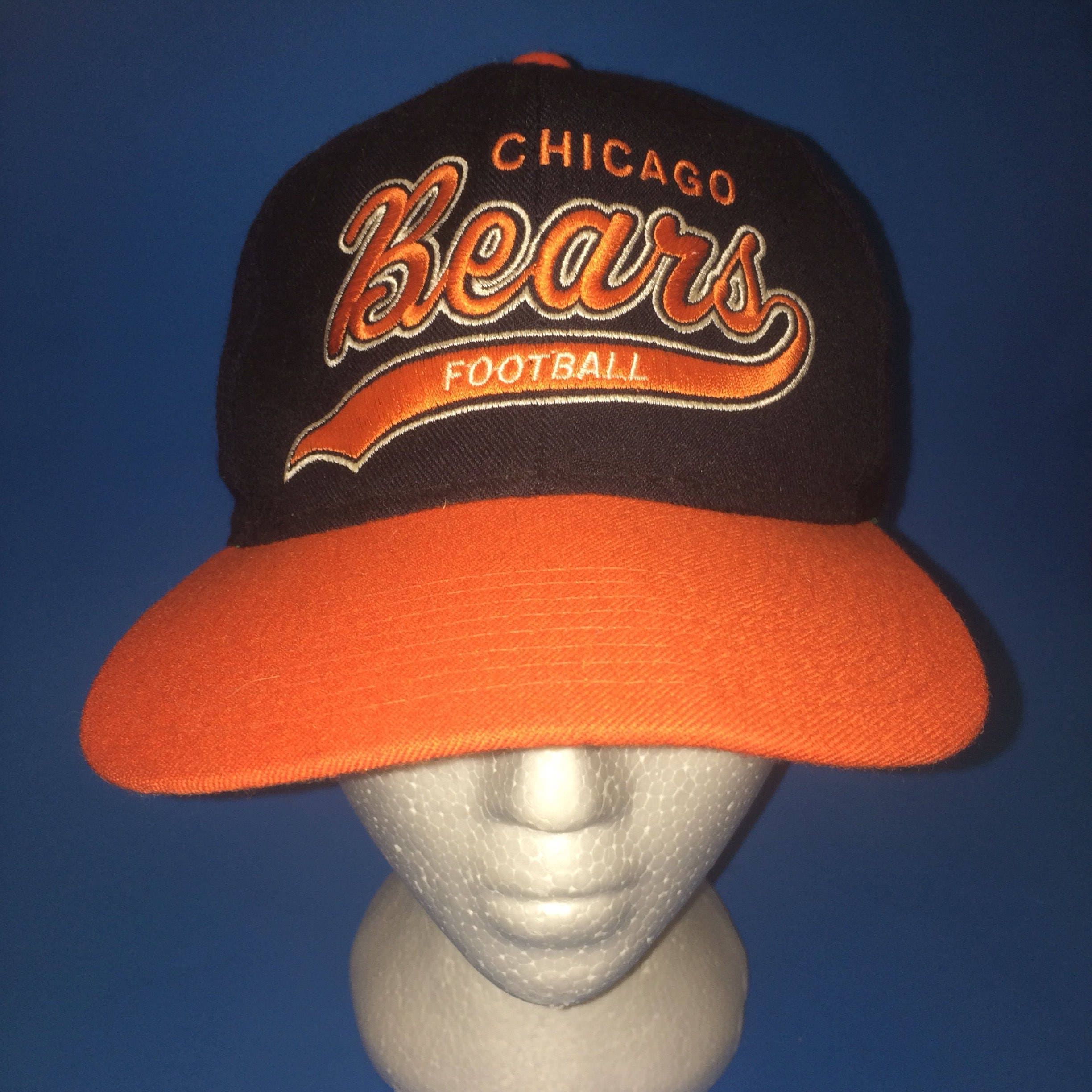 ... new zealand vintage chicago bears starter script snapback hat  adjustable 2144e 1ffd2 0d8891783