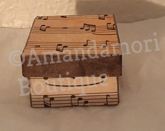 Vintage Antique Music Style Jewelry Box Free Shipping