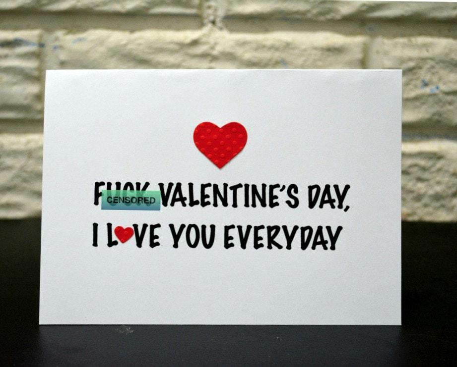 Fuck valentines day