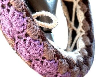 Crochet Pattern: Steering Wheel Cozy