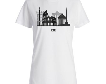 New Beautiful Rome Italy Art Ladies T-shirt m286f