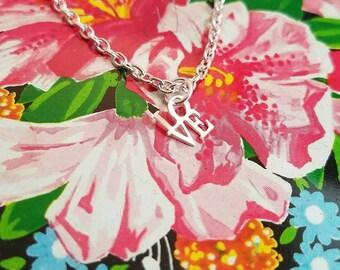 Little bit of love necklace in silver