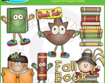 Fall Book Fair Clip Art