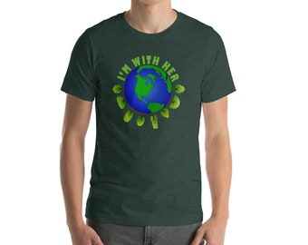 Men's Earth Day T-Shirt, Climate Change Shirt, Environmental Awareness Shirt, Activist T-Shirt