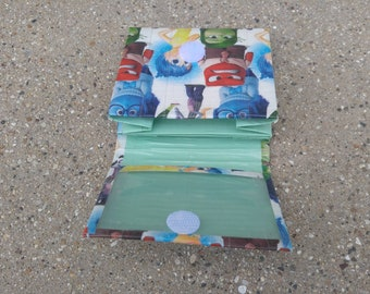 Inside Out Duct Tape Mini Accordion Wallet