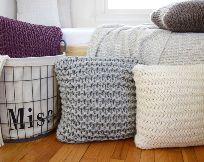 Featured listing image: Chunky Throw Pillow Set