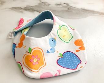 Apple waterproof baby bib