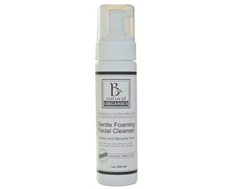 Facial Cleanser - Gentle Foaming Facial Cleanser - 7 oz