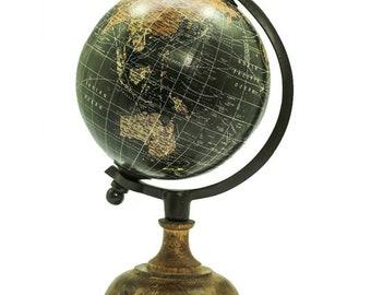 Acrylic & Wood Globe