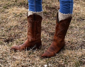 Crochet Pattern for Ainsley Boot Cuff Legwarmers in multiple sizes - Welcome to sell finished items