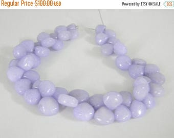 on sale fine quality mystic lavender agate smooth onion shape briolitte 8 inch strand 8-10 mm approx