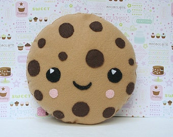 Cookie Pillow, Kids Pillow, Custom gift, Kawaii, Food Decor, Nursery Decor, Baby Shower Gift,