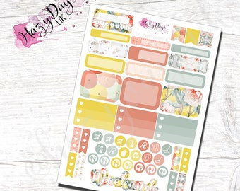 Paper Umbrellas - Functional Planner Stickers for Horizontal, Vertical ECLP, BuJo, TN, Kikki.K Filofax, Happy Planner etc