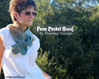 Poso, the pocket scarf with style. PATTERN