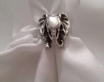 Sterling Elephant Ring
