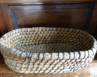 Vintage French Dough Raising Bread Making Basket Display Presentation Patisserie circa 1950's / English Shop