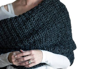 Women's Cowl Knitting Pattern - LEADERSHIP - a set of instructions to knit the cowl