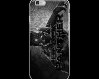 Black Panther IPHONE case all sizes!!