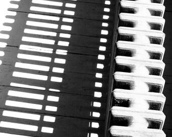 Black and White Shadows - Photography - Tribeca, New York, NY -  8x12