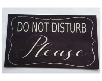 Do Not Disturb Sign Door Room Wall Hanging Business Parent Retreat