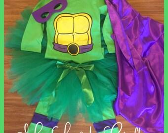 Ninja Turtle Tutu costume